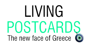 living postcards logo