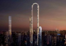 Greek architect designs controversial skyscraper for New York City